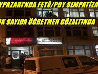 BEYPAZARI'NDA FETÖ/PDY SEMPATİZANI ÇOK SAYIDA ÖĞRETMEN GÖZALTINDA, İSİMLERİ ŞUNLARDIR;
