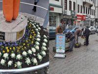Beypazarı Çarşısı ve Sokakları Kış Aylarında da Rengarenk