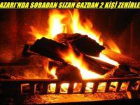 BEYPAZARI'NDA SOBADAN SIZAN GAZDAN 2 KİŞİ ZEHİRLENDİ...