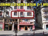 BEYPAZARI CADDE ÜZERİNDE 2.Cİ KATTA SATILIK 2+1 OFİS,BÜRO