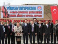 Beypazarı ( TÜRKAV ) Şehitleri Anma Günü Ve Çanakkale Deniz Zaferi'nin 102. Yılını Kutladı