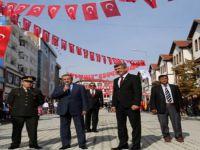 29 Ekim Cumhuriyet Bayramı kutlamaları Beypazarı Milli Egemenlik Caddesi´nde yapıldı