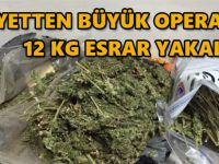 BEYPAZARI'NDA 12 KG ESRAR ELE GEÇİRİLDİ