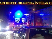 BEYPAZARI'NDA HOTEL ODASINDA İNTİHAR GİRİŞİMİ..