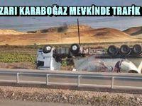 BEYPAZARI KARABOĞAZ MEVKİNDE TRAFİK KAZASI