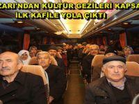 BEYPAZARI'NDAN KÜLTÜR GEZİLERİ KAPSAMINDA İLK KAFİLE YOLA ÇIKTI