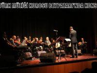 KLASİK TÜRK MÜZİĞİ KOROSU BEYPAZARI'NDA KONSER VERDİ