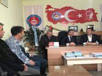 MHP MİLLETVEKİLİ MEHMET PARSAK BEYPAZARI TÜRKAV'I ZİYARET ETTİ.