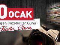 Beypazarı Belediye Başkanı Tuncer KAPLAN'IN 10 Ocak Çalışan Gazeteciler Günü Kutlama Mesajı