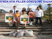 BEYPAZARI'NDA ATIK PİLLER DÖNÜŞÜME KAZANDIRILIYOR