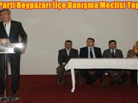 AK Parti Beypazarı İlçe Danışma Meclisi Toplandı