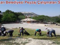Beypazarı Belediyesi Peyzaj Çalışmaları Sürüyor