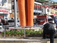 Beypazarı'nda Cadde ve Sokaklar Renkleniyor