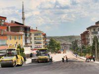 Beypazarı Belediyesi Üst Yapı Çalışmalarını Aralıksız Sürdürüyor