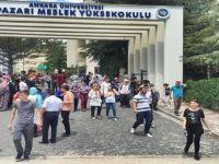 BEYPAZARI'NDA 2000 ÖĞRENCİ YSK SINAVLARINA KATILDI