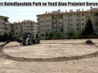 Beypazarı Belediyesinin Park ve Yeşil Alan Projeleri Gerçekleşiyor