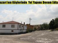 Beypazarı'nın Köylerinde  Yol Yapımı Devam Ediyor