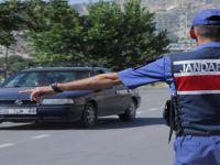 Beypazarı'nda Polis ve Jandarma Trafik Denetimlerini Sürdürüyor