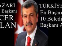 Beypazarı Belediye Başkanı Tuncer KAPLAN Türkiyenin En Başarılı 10 Belediye Başkanı Arasında
