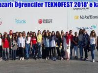 Beypazarlı Öğrenciler TEKNOFEST 2018' e katıldı