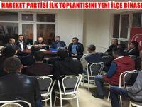 MİLLİYETÇİ HAREKET PARTİSİ ( MHP ) İLK TOPLANTISINI YENİ İLÇE BİNASINDA YAPTI