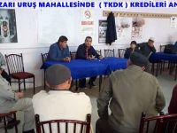 BEYPAZARI URUŞ MAHALLESİNDE  ( TKDK ) KREDİLERİ ANLATILDI