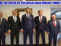 BEYPAZARI'NA 200 KİŞİLİK KIZ 200 KİŞİLİK ERKEK ÖĞRENCİ YURDU YAPILACAK