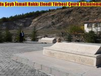 Beypazarı'nda Şeyh İsmail Hakkı Efendi Türbesi Çevre Düzenlemesi Yapıldı