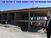 Beypazarı Fatih Mesleki ve Teknik Anadolu Lisesi Yeni Binasına Taşınacak
