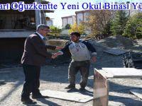 Beypazarı Oğuzkentte Yeni Okul Binası Yükseliyor