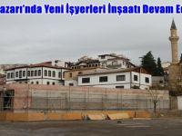Beypazarı'nda Yeni İşyerleri İnşaatı Devam Ediyor