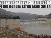 Beypazarı Karakaya Sulama Göleti ile 14 Bin Dönüm Tarım Alanı Sulandı