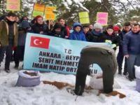Beypazarı'nda Öğrenciler Yaban Hayatı İçin Doğaya Yem Bıraktı