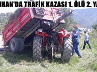 NALLIHAN'DA TRAFİK KAZASI 1. ÖLÜ 2. YARALI