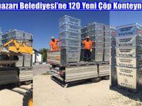 Beypazarı Belediyesi'ne 120 Yeni Çöp Konteyneri
