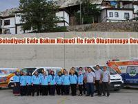 Beypazarı Belediyesi Evde Bakım Hizmeti İle Fark Oluşturmaya Devam Ediyor