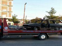 Beypazarı Belediyesi Radikal Bir Kararla İlçedeki Hurda Araçları Toplamaya Başladı