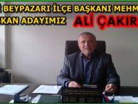 Beypazarı AK Parti İlçe Başkanı Mehmet YAYIN'ın Basın Açıklaması