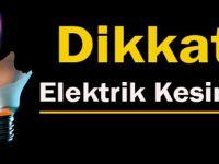 Beypazarı'nda 18 - 20 Kasım Arası Elektrik Kesintisi Olacak