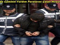 Beypazarı'nda Caminin Yardım Paralarını Çalan Hırsız Tutuklandı