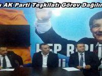 Beypazarı AK Parti Teşkilatı Görev Dağılımını Yaptı
