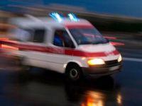 Beypazarı'nda Araç Yayaya Çarptı  1 Ağır Yaralı