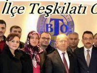 Ak Parti Beypazarı İlçe Başkanı Ali ÇAKIROĞLU ve Yönetim Kurulu Üyeleri Odaları Ziyaret Ettiler