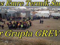 Yunus Emre Termik Santrali Efor Grupta İşçiler GREV Yapıyorlar