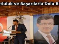 AK Parti Beypazarı İlçe Başkanı Ali Çakıroğlu'nun Yeni YIl Mesaj