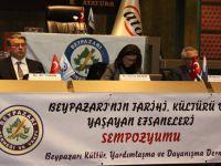 Beypazarı'nın Tarihi ,Kültürü,Yaşayan Efsaneleri Sempozyumda Konuşuldu