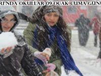 Beypazarı'nda Okullar 09 Ocak Cuma Günü de Tatil