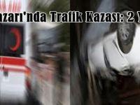 Beypazarı'nda otomobilin devrilmesi sonucu 2 kişi yaralandı.
