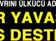 BAŞBUĞ ALPARSLAN TÜRKEŞ'İN OĞLU VE AİLESİNDEN MANSUR YAVAŞ'A DESTEK