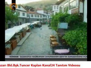 Beypazarı Bld.Bşk.Tuncer Kaplan Kanal24 Tanıtım Videosu